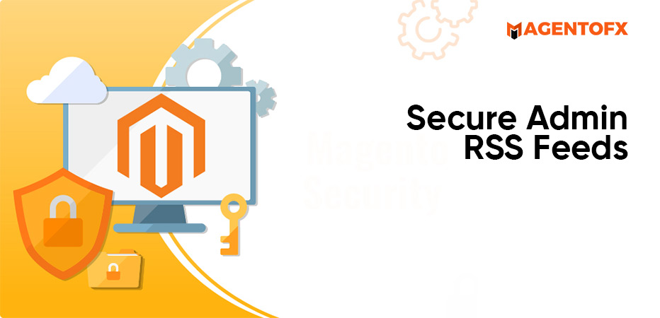 secure admin rss feeds