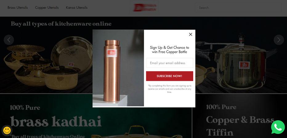 Product offer- website design trends