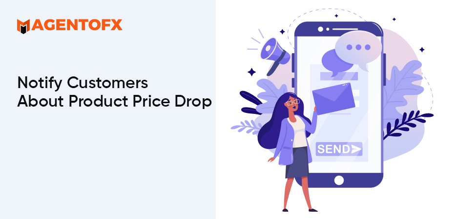 Product Price Drop by Web Push Notification